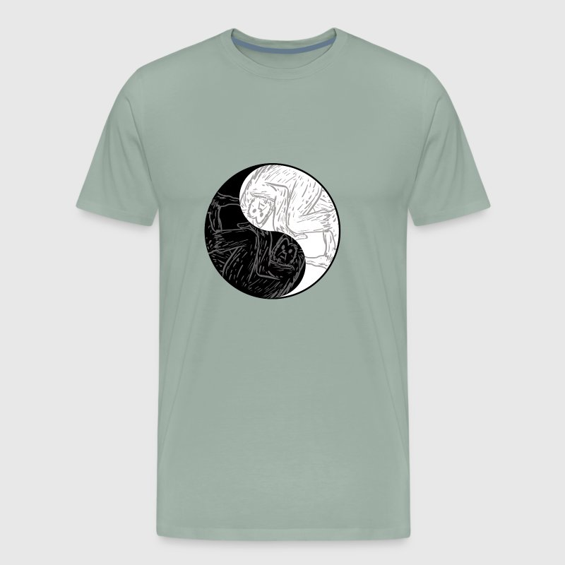 Yin Yang Bigfoot Chinese Tai Chi Symbol Pun By Freshdressedtees