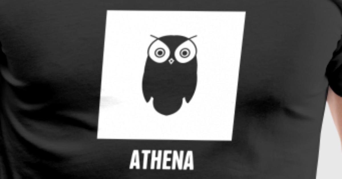 Athena Greek Mythology God Symbol By Spreadshirt