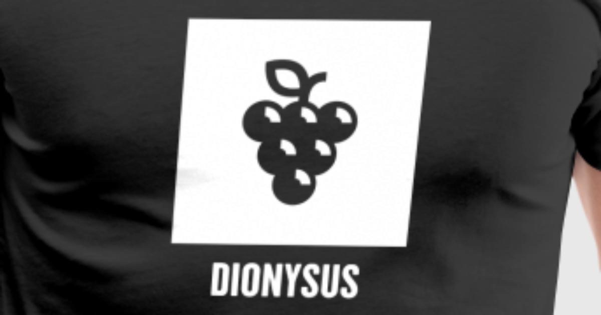 Dionysus Greek Mythology God Symbol By Spreadshirt