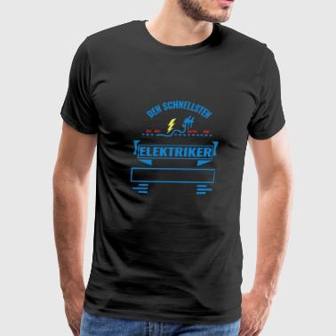 We have the best electricians - Men's Premium T-Shirt