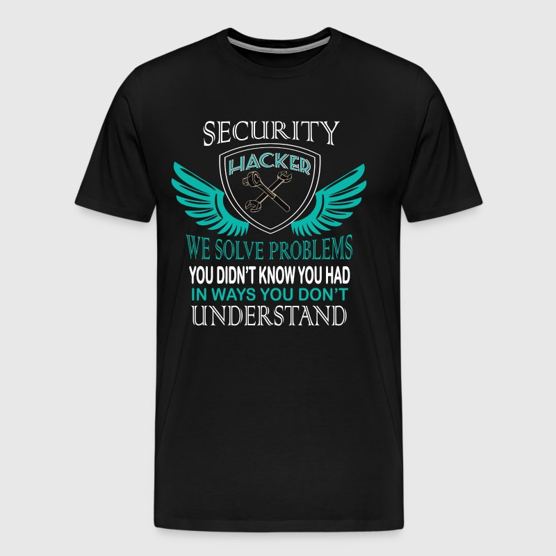 Security Hacker T Shirt - Men's Premium T-Shirt