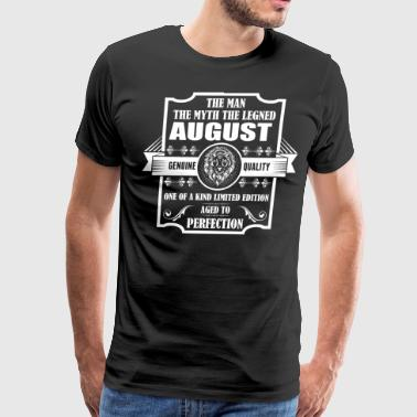 Leo Legend August - Men's Premium T-Shirt
