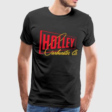Carburetor New Holley Performance Carburetor Vintage Hot Rod - Men's Premium T-Shirt