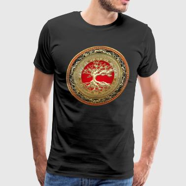 The Tree Of Knowledge Golden Tree of Life - Men's Premium T-Shirt