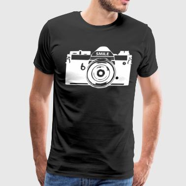 Camera Photography - Men's Premium T-Shirt