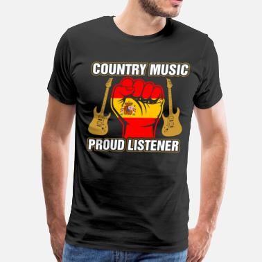 Spanish And Proud Spanish Country Music Proud Listner - Men's Premium T-Shirt