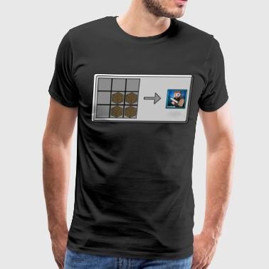 The Crafting Table Shirt 1 - Men's Premium T-Shirt