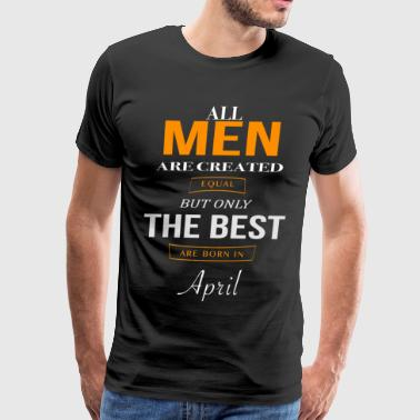 April Birthday - Men's Premium T-Shirt