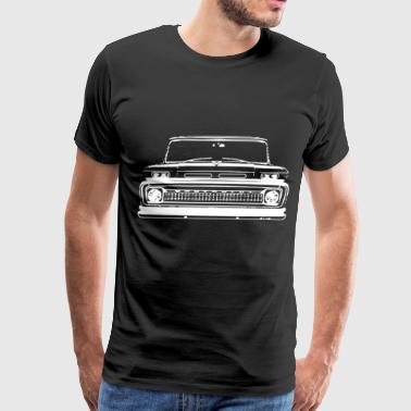 Car Grille Art Teeshirt T Shirt 1964 1965 1966 C10 - Men's Premium T-Shirt
