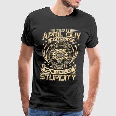 This is April Guy - Men's Premium T-Shirt