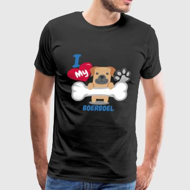 Boerboel Cute Dog Gift Idea Funny Dogs - Men's Premium T-Shirt