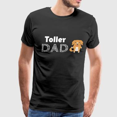 Toller Dad - Men's Premium T-Shirt