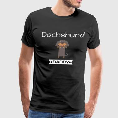 Dachshund Daddy - Men's Premium T-Shirt