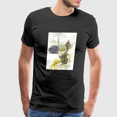 Who Here Wants To Hear A Good Story About A Bridge - Men's Premium T-Shirt