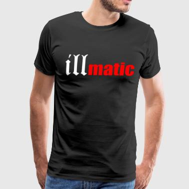 Illmatic Nas Hip Hop Rap Dj Trap 2 Pac Biggie Kany - Men's Premium T-Shirt