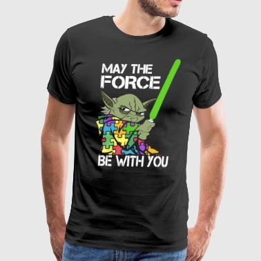 May The Force Be With You teacher - Men's Premium T-Shirt