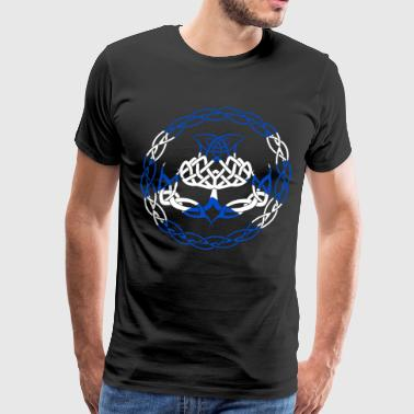 Scotland Flag Scottish Thistle scotland T Shirt - Men's Premium T-Shirt