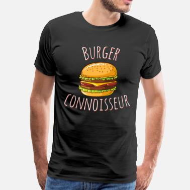 Burger Connoissseur - Men's Premium T-Shirt