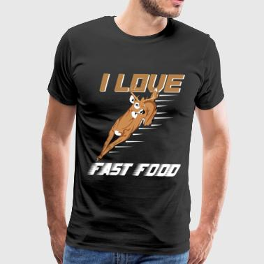 fast food hunting gift - Men's Premium T-Shirt