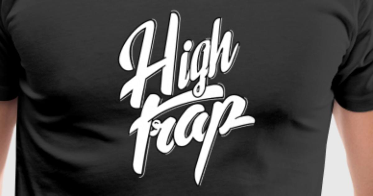 high trap logo by spreadshirt
