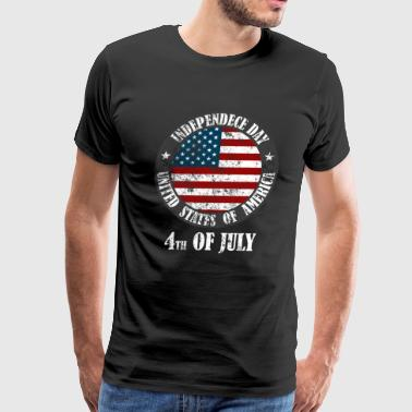Independence Day 4.7.1776 USA gift idea - Men's Premium T-Shirt