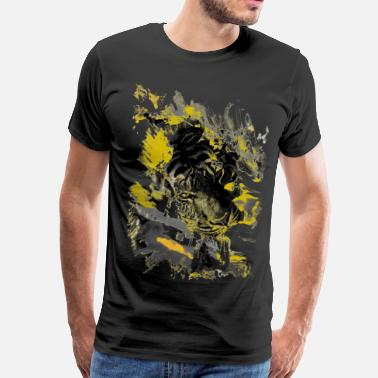 Yellow Yellow Tiger - Men's Premium T-Shirt