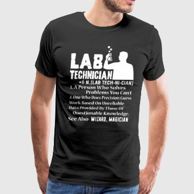 Lab Technician Badass Shirt - Men's Premium T-Shirt