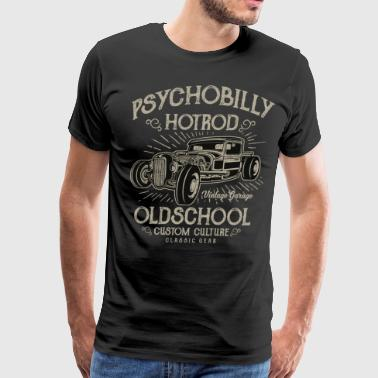 Psychobilly Hotrod2 - Men's Premium T-Shirt