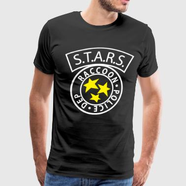 STARS RACCOON City Police inspired by Resident Evi - Men's Premium T-Shirt