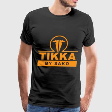 Tikka T3 By Sako Finland Shot Gun Rifle Hunt T Shi - Men's Premium T-Shirt