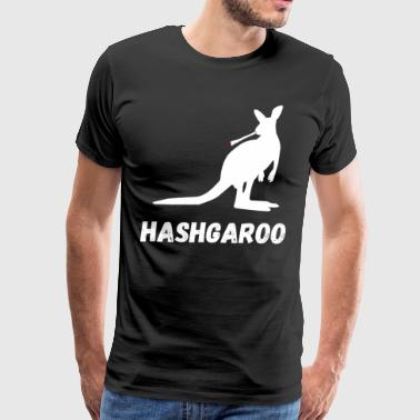 Hashish Kangaroo Joint Gifts - Men's Premium T-Shirt