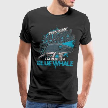 Blue Whale Costume Carneval Halloween Animal - Men's Premium T-Shirt