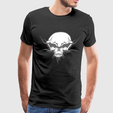 Tribal skull - Men's Premium T-Shirt
