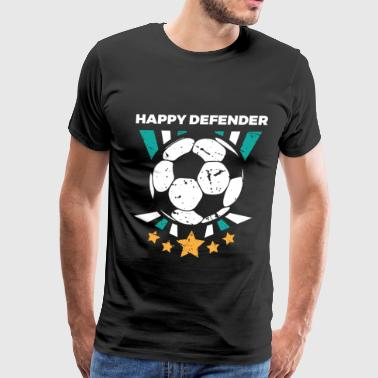 Funny Soccer Defenders Gift for Sweepers Football Players, Coaches and Fans - Men's Premium T-Shirt