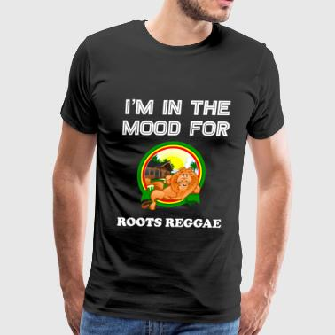 Blood Of American Vintage Reggae Gift for Jamaican Dub Roots Reggae Lovers - Men's Premium T-Shirt