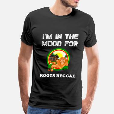 Jamaican Funny Cool Vintage Reggae Gift Idea for Lovers of Jamaican Dub Roots Reggae and Jamaica Heritage - Men's Premium T-Shirt
