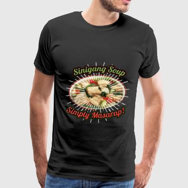 Boyfriends Vintage Funny Sinigang Soup Gift for Filipino Food Lovers. - Men's Premium T-Shirt