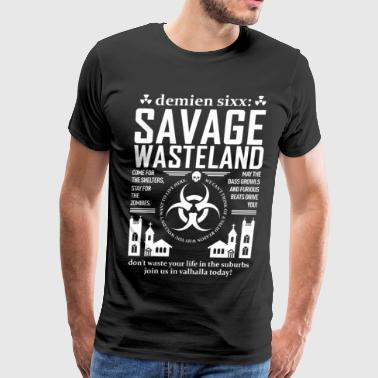 Savage Girls Savage Wasteland Girl's Tank Top - Men's Premium T-Shirt