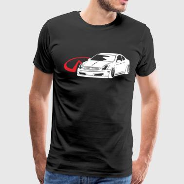 G35 Infiniti G35 Coupe Or Car Jdm Car T Shirts - Men's Premium T-Shirt