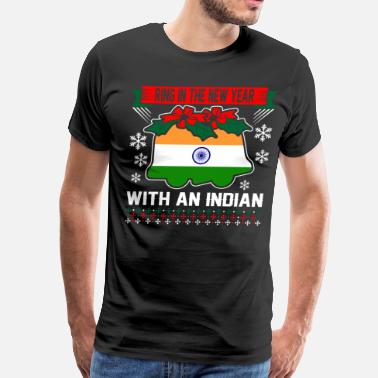 Indian Santa Ring In The New Year With An Indian - Men's Premium T-Shirt