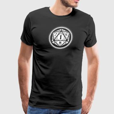 D20 Natural 1 - Men's Premium T-Shirt
