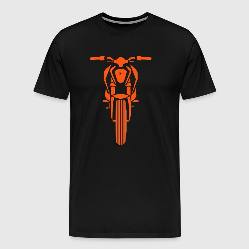 sports bike front look - Men's Premium T-Shirt