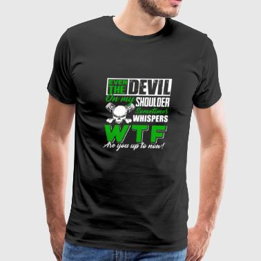 Shoulder Mechanic The Devil On My Shoulder - Men's Premium T-Shirt