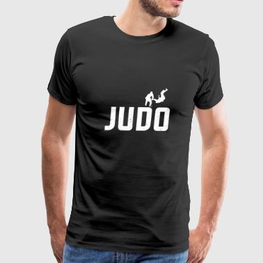 Judo - grappling sport - animation - gift - Men's Premium T-Shirt