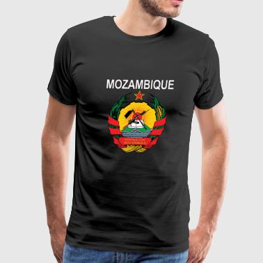 Mozambique coat of arms national design - Men's Premium T-Shirt