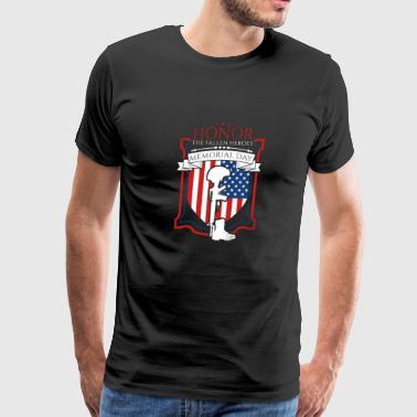 Honor The Fallen Heroes Memorial Day - Men's Premium T-Shirt