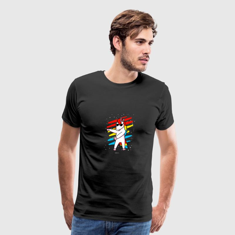 Flossing Unicorn Floss Dance Move - Men's Premium T-Shirt