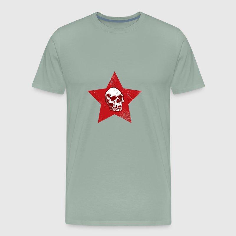 Skull Red Star Symbol Death Metal Punk By Bestseller Shirts