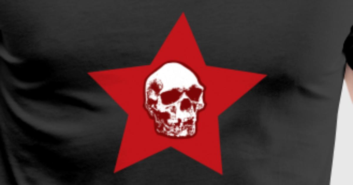 Skull Red Star Symbol Death By Bestseller Shirts Spreadshirt