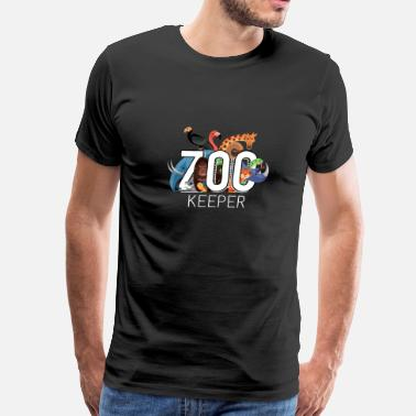 Exotic Zoo Keeper Animal Exotic Gift Idea Birthday - Men's Premium T-Shirt